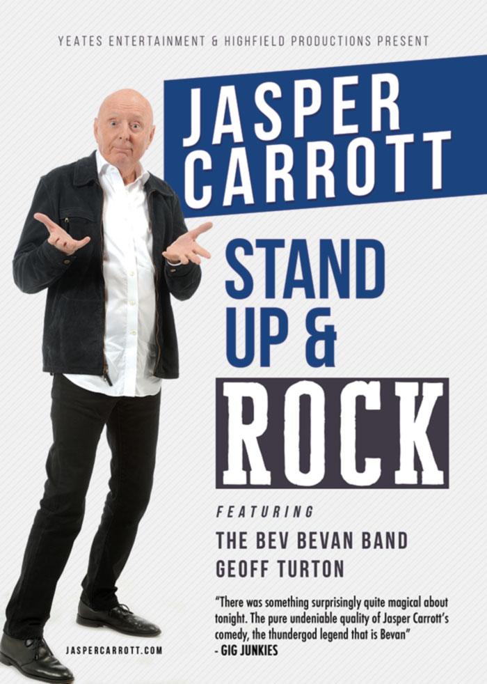 Jasper Carrott - Stand Up & Rock